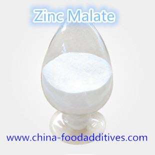 Food Additives High Purity Zinc Malate Nutrition Enhancers food grade CAS:2847-05-4