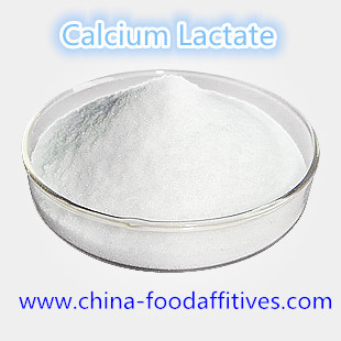 China Food Additives Calcium Lactate food grade CAS:814-80-2 distributor