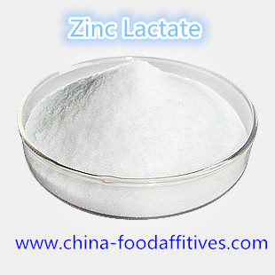 China Food Additives Zinc Lactate food grade CAS:16039-53-5 distributor
